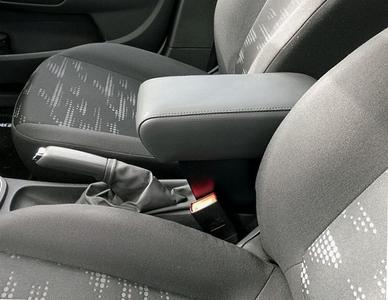 Bracciolo con portaoggetti per Opel Corsa D