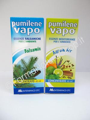 PUMILENE VAPO Concentrato BALSAMIC e AGRUM AIR