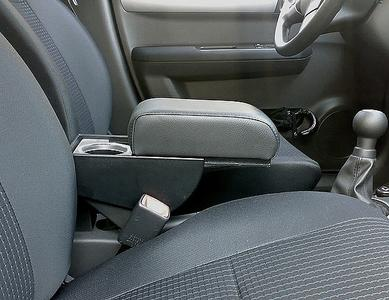 Bracciolo regolabile con portaoggetti per Suzuki Swift (dal 2010)