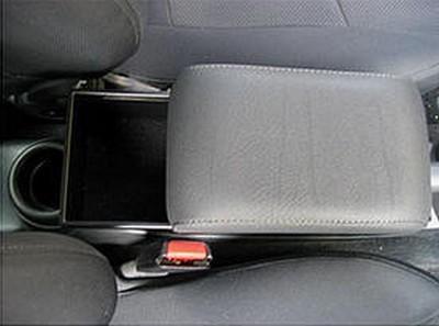 Bracciolo regolabile con portaoggetti per Toyota Yaris (2005-2011)