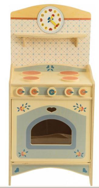 mobiletto cucina in legno naturale per cucina componibile per bambini di dida