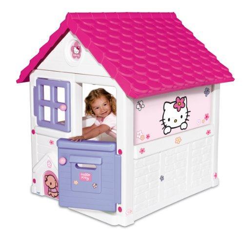 Casetta per bambini in resina da giardino smoby 7600310431 sweet home hello kitty - Casette per bambini da giardino ...