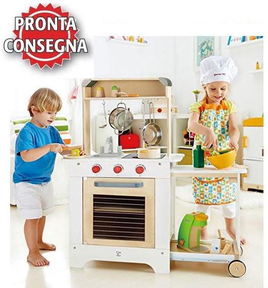 Cucina hape cucina bimba bambina cucina cuoci bambina cucina gioco cucina giocattolo - Cucine per bambini in legno ...