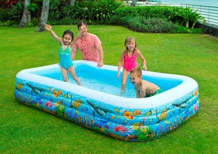 Piscine rettangolari intex - Piscina gonfiabile amazon ...