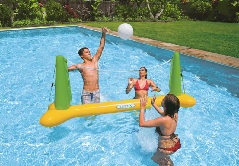 56508 intex rete pallavolo gonfiabile gigante da piscina for Piscine intex amazon