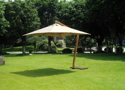 Ombrellone professionale quadrato da giardino 5038 Contract Greenwood