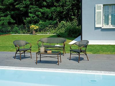 Set divanetto da giardino SET SIRACUSA modello classico SET12