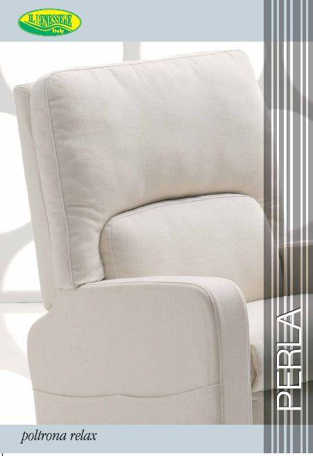 Il benessere poltrone il benessere il benessere lilly - Poltrona relax design ...