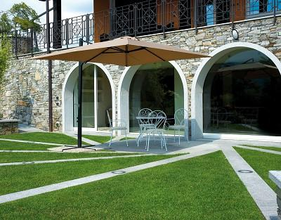 Greenwood ombrellone e5034 rettangolare da esterno 2 4 x for Negozi arredo giardino
