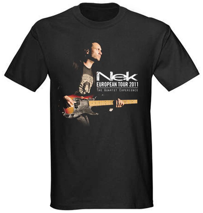 T-shirt Foto Nek The quartet experience