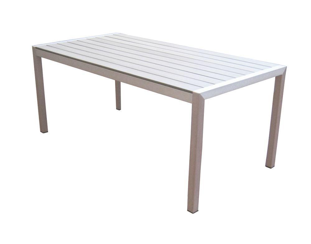 Greenwood rte 53 tavolo bonassola rettangolare eleganti e for Arredo da giardino in alluminio