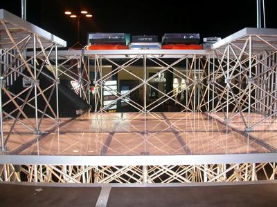 Titan Stage DECK 50x100 TRASPARENT
