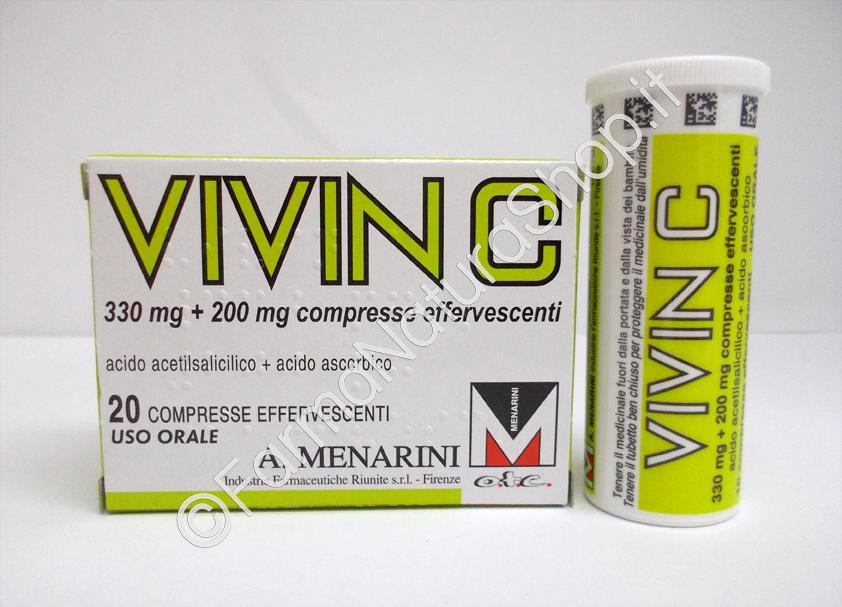 VIVIN C compresse effervescenti