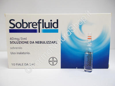 SOBREFLUID 40 mg / 3 ml soluzione da nebulizzare