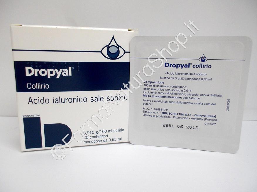 DROPYAL 0,015% collirio, soluzione