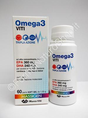 OMEGA 3 VITI - TRIPLA AZIONE