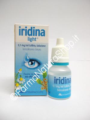 IRIDINA LIGHT 0,1mg/ml Collirio