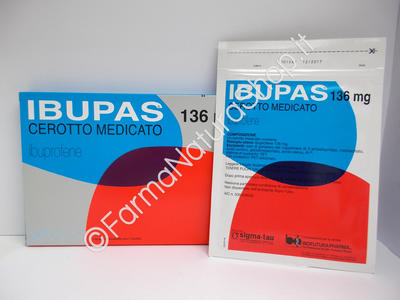IBUPAS 136 mg cerotto medicato