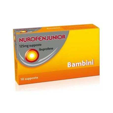 NUROFENJUNIOR 125 mg supposte