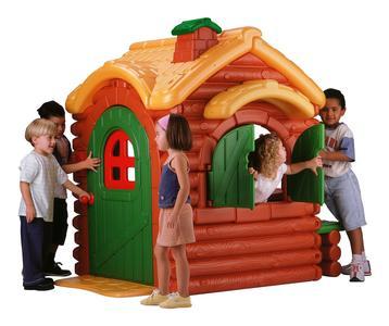 Casetta da giardino Feber Woodland Cottage 8000002884 Da 3 a 10 Anni di Feber