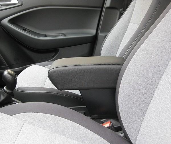 Bracciolo mod. XXL regolabile con portaoggetti per Hyundai I20  (2015>)