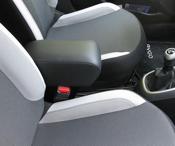 Bracciolo con portaoggetti per Toyota Aygo (dal 2014)