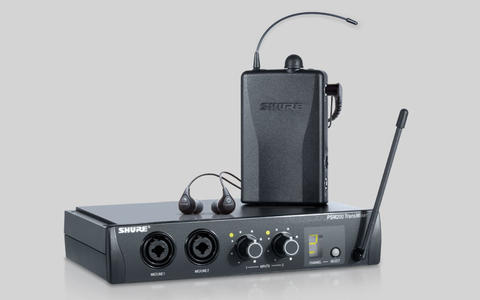 Shure PSM200 kit radio personal monitor in ear