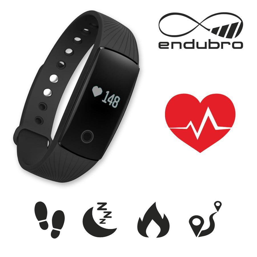 endubro ID107 HR FITNESS TRACKER CON CARDIO/ BRACCIALETTO FITNESS / SMARTWATCH PER ANDROID E IOS