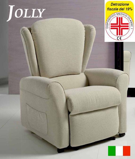 Poltrone elettriche poltrone mobili sedie elettriche per for Poltrona alzapersona