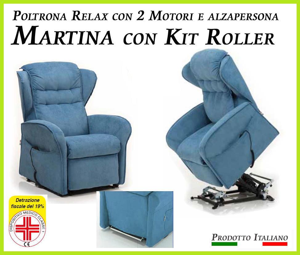 Cool poltrona relax martina sfoderabile motori con - Poltrona reclinabile ikea ...