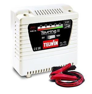 Caricabatteria Telwin TOURING 11  6/12 V 4,5 A - Caricabatterie auto moto scooter