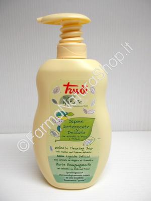 TRUDI Baby Nature - Sapone Detergente Delicato  con estratti di Erica e Primula