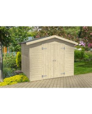 Casetta da giardino in Legno 243x178x220 h MILAN prefabbricata