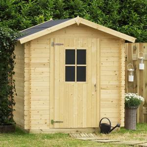 Casetta da giardino in legno ricovero attrezzi LONDRA 198x198x218 h