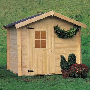 Casetta da giardino in Legno 238x198x218 h CINZIA ricovero attrezzi