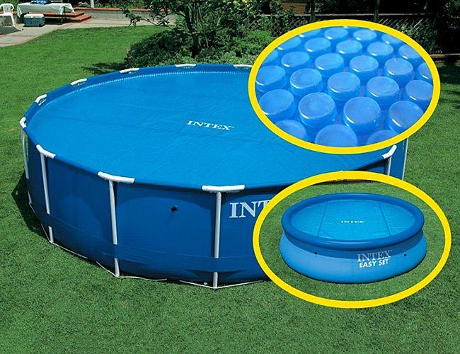 Il telo termico intex 29024 la copertura universale per for Teli invernali per piscine intex
