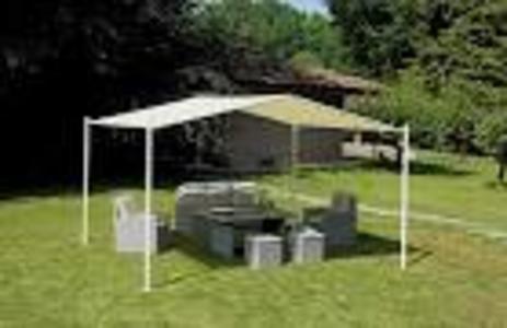 Gazebo da giardino 3,5 x 4 mt per arredare spazi esterni GAZ 507
