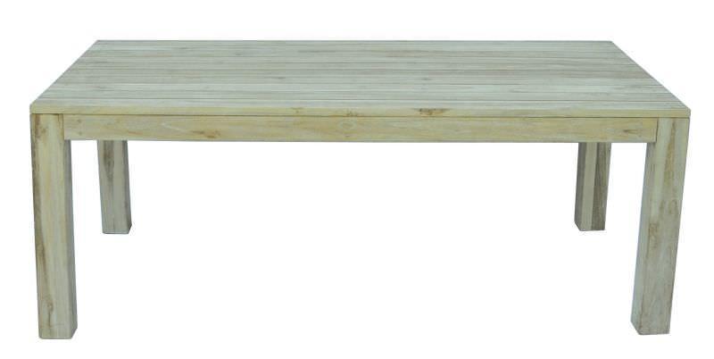 Tavolo da giardino in legno moia wrt 03w bali tavolo da for B w da esterno