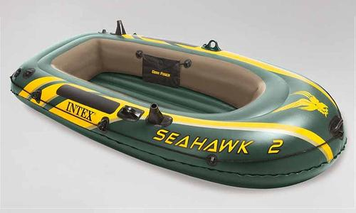 Canotto gonfiabile INTEX 68347 SEAHAWK 2 SET Gommone Intex 68347  Canotto Seahawk  236 x 114 x 41 cm