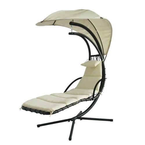Lettino dream chair sedia dondolo da esterno con - Amazon dondolo da giardino ...