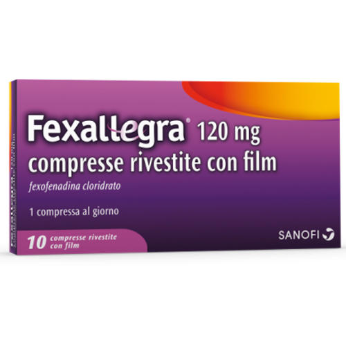 FEXALLEGRA 120 mg Compresse