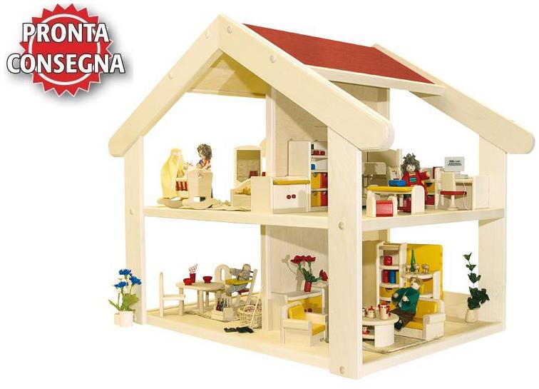 Casa bambole casa bambole in legno casa delle bambole - Casa delle bambole in legno ikea ...