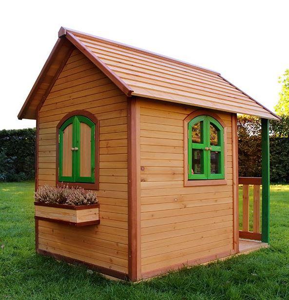 Casetta legno casetta bambini casetta bimbo casetta for Piani di case in cedro