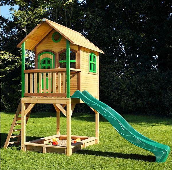 Casetta axi casetta con sabbiera casetta con scala for Amazon casette per bambini