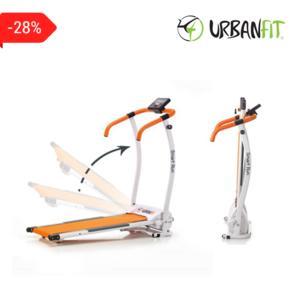 Smart Run Tapis Roulant Compat Urban Fit - Motore 1.5 Hp - 10 Km/h - 120 Kg Peso Utente Richiudibile
