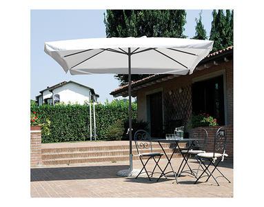 Ombrellone giardino 3x2 mt ferro palo centrale e copertura poliestere resistente 5006