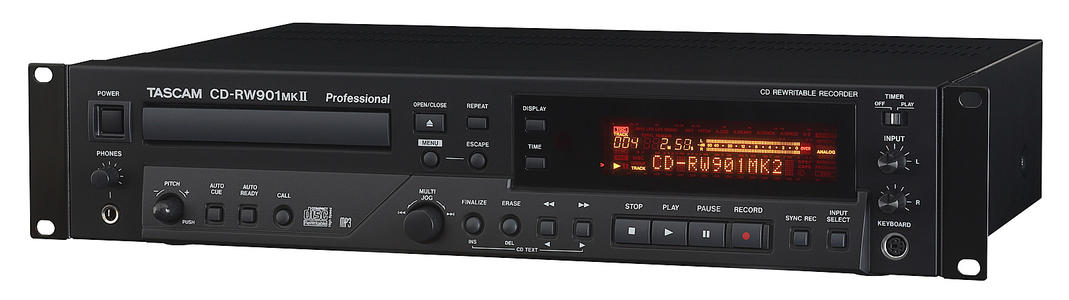 Tascam CD RW 901 MkII