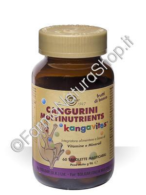 SOLGAR Cangurini Multinutrients masticabili