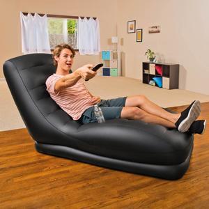 Poltrona pouf gonfiabile Intex 68585 sdraio interni ed esterni Mega Lounge Poltrona gonfiabile, 81 x 173 x 91 cm
