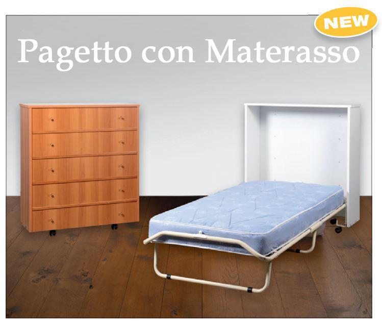 mobile letto, letto richiudibile, paggetto, letto emergenza, letto ...